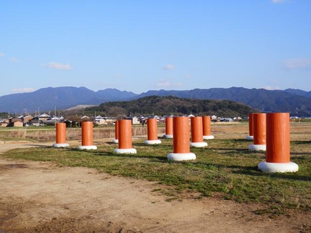 藤原宮跡からみた 香久山