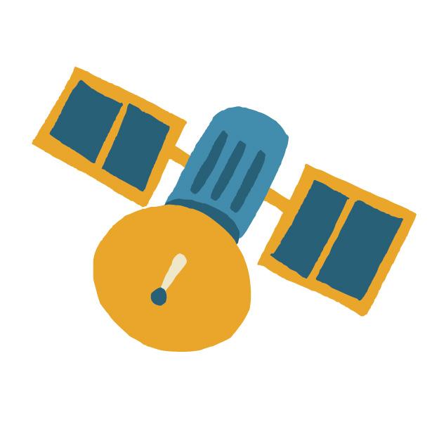 静止衛星は、何故空中で止まっていられる?
