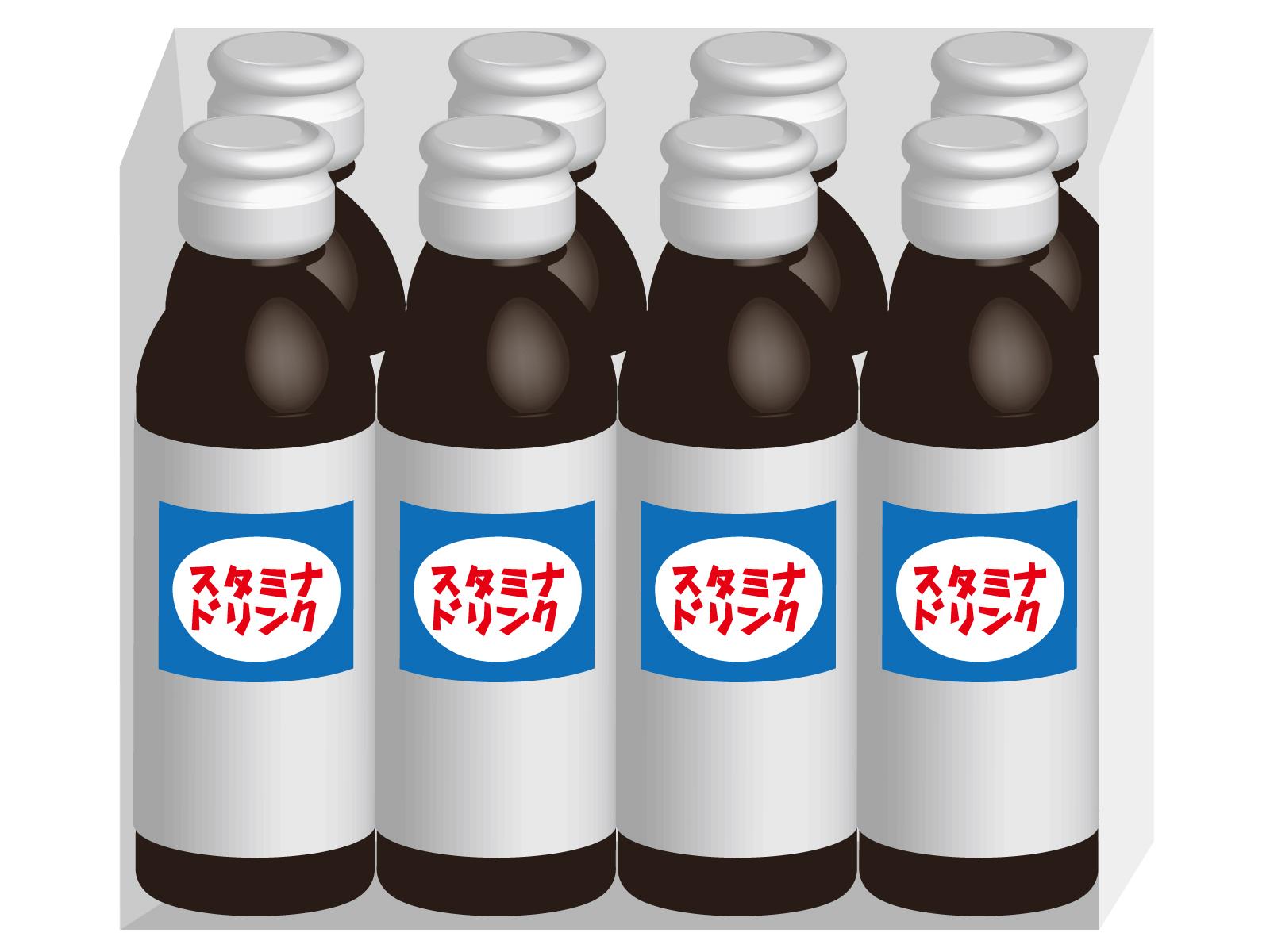 スタミナドリンクのビンの色は、何故茶色?