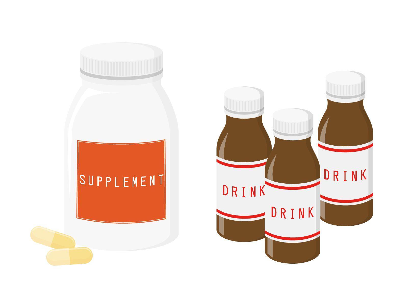 サプリメントは、ご飯といっしょにとらないとほとんど効果がない?