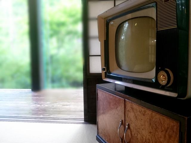 ブラウン管の形に見られるテレビの変遷?
