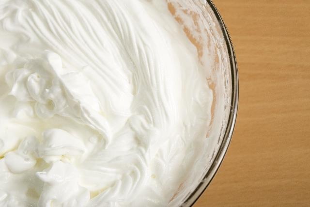 ホイップクリームを素早く作るには?