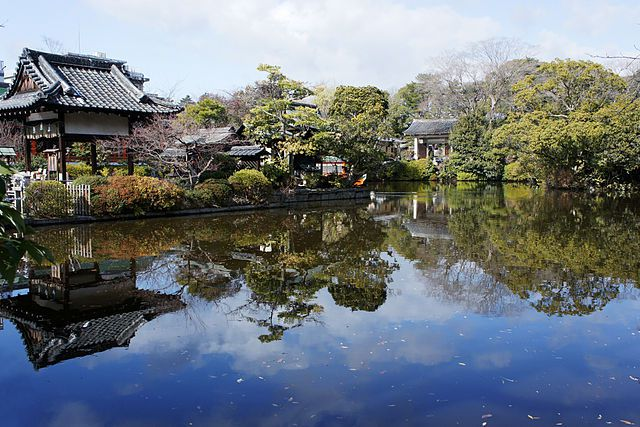 神泉苑 寺院 京都市中京区