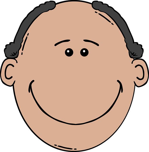 円形脱毛症は何故円形なのか?-実は、本当に円形にハゲるわけではない