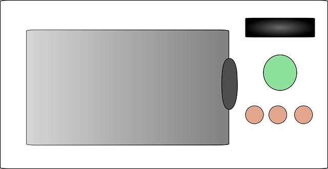 電子レンジ マイクロ波