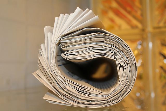 新聞紙の包みを開けると1000万円?