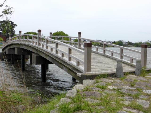 乙女ヶ池の太鼓橋15