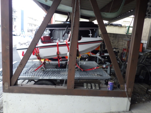 ミニボートを載せる (4)
