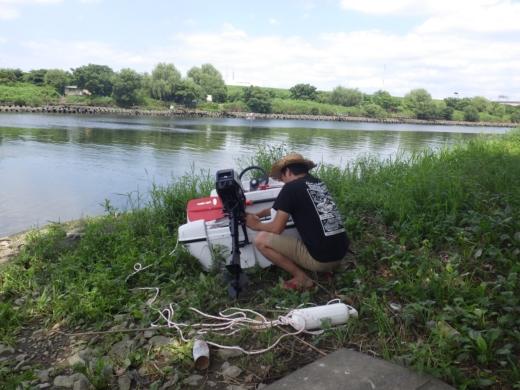 荒川でボート (28)