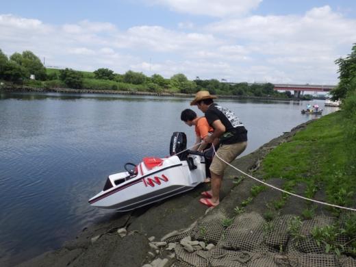 荒川でボート (32)
