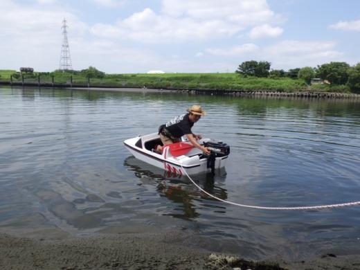 荒川でボート (36)