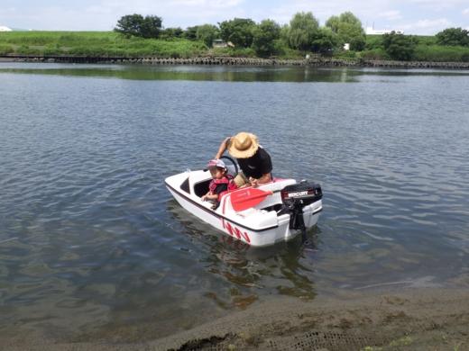 荒川でボート (40)