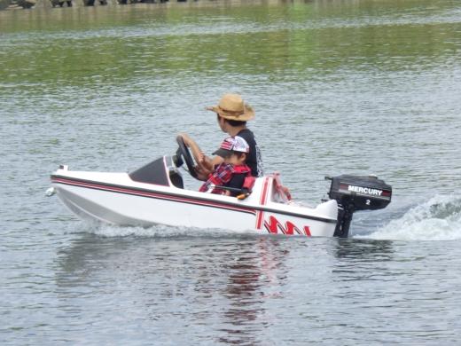 荒川でボート (41)