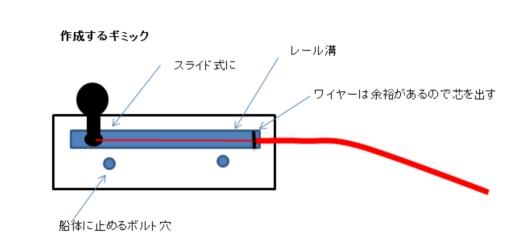 アクセルワイヤーギミック④