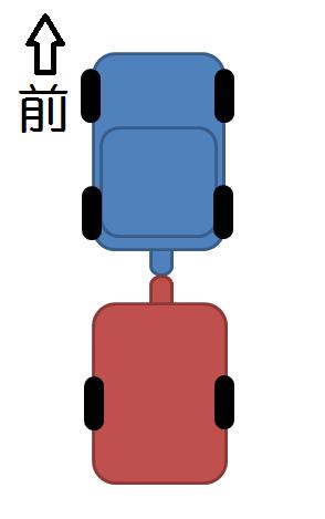 トレーラーのバック方法①