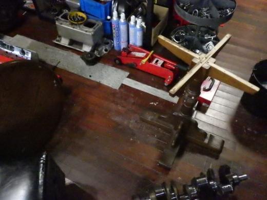 ガレージのテーブル (10)