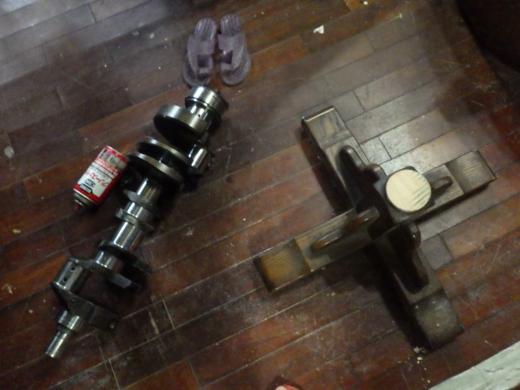 ガレージのテーブル (13)