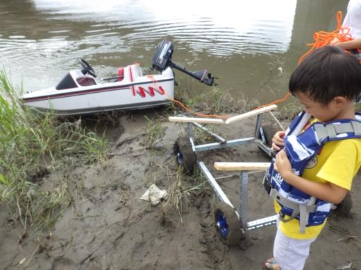 大利根橋で釣り (42)