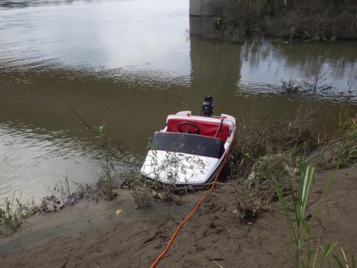 大利根橋で釣り (48)