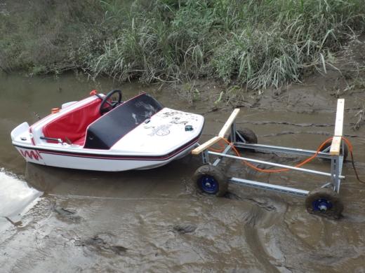 大利根橋で釣り (58)