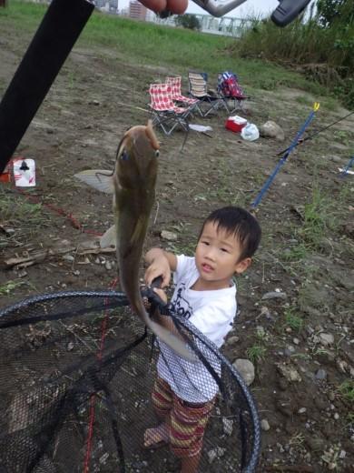 大利根橋で釣り (50)