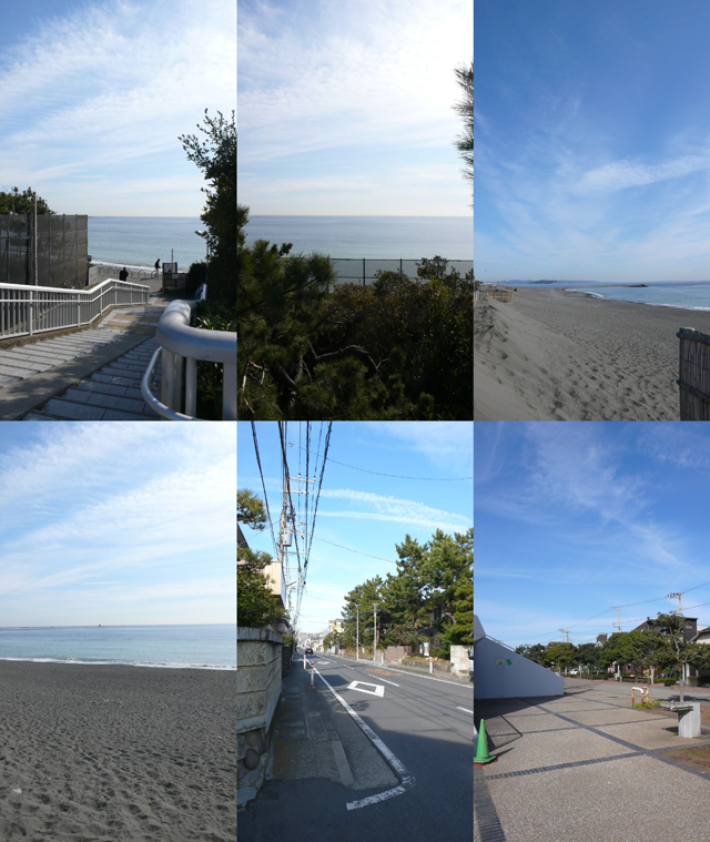■物件から海まで徒歩9分!!自転車なら3分でビーチです!!海の好きな方は毎日が楽しくなりそうですね!!