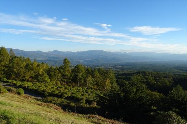 標高1,550m地点からの眺望20181002