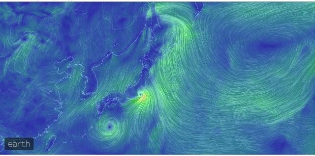 台風の風-1