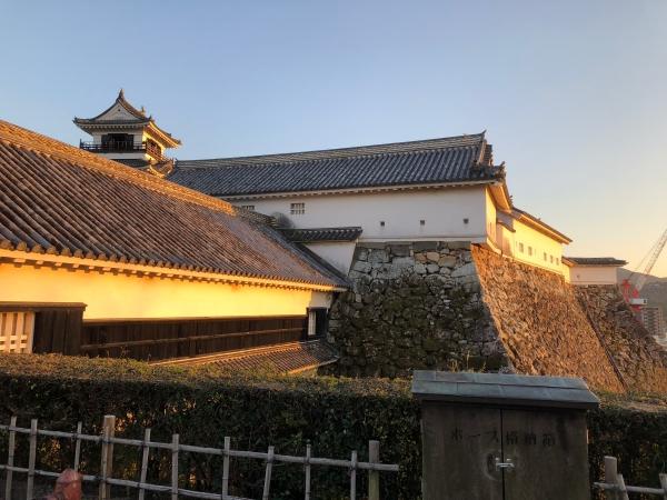 065高知城夕焼けbatch_IMG_0233