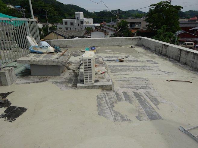 某事務所 屋根防水補修2