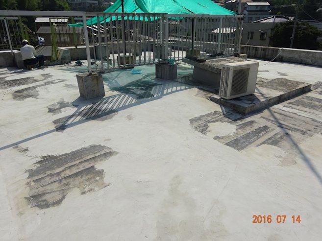 某事務所 屋根防水補修 3