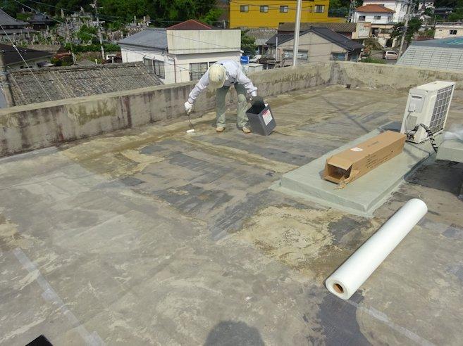 某事務所 屋根防水補修 4