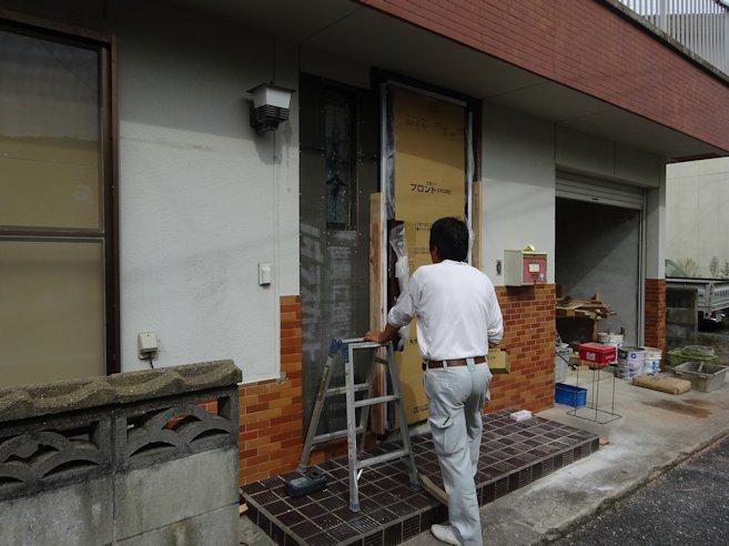 H邸リフォーム~ 玄関ドア取替