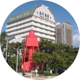 9 昔の赤い灯台