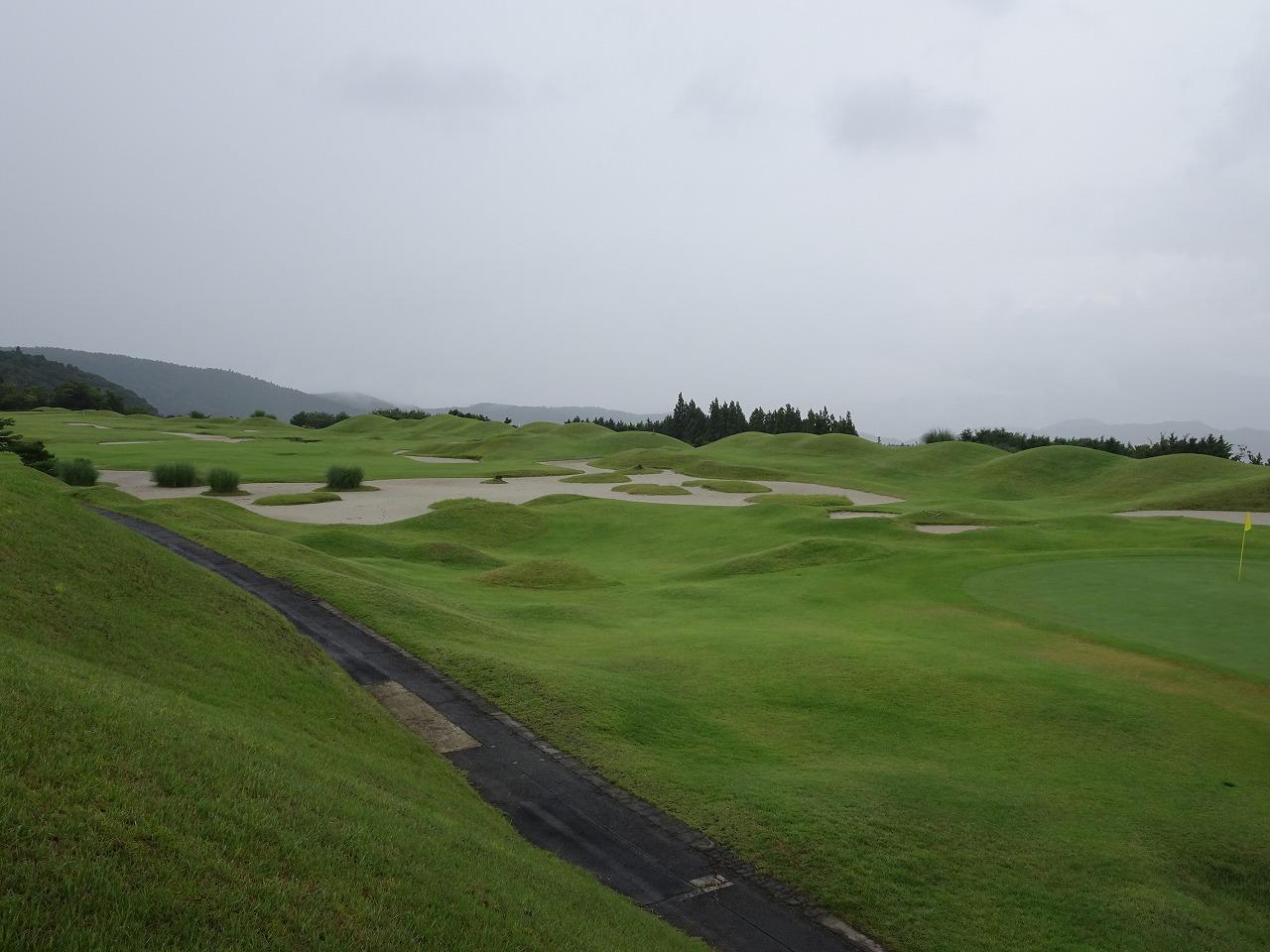 伊豆ハイツゴルフ倶楽部 (2016年8月)