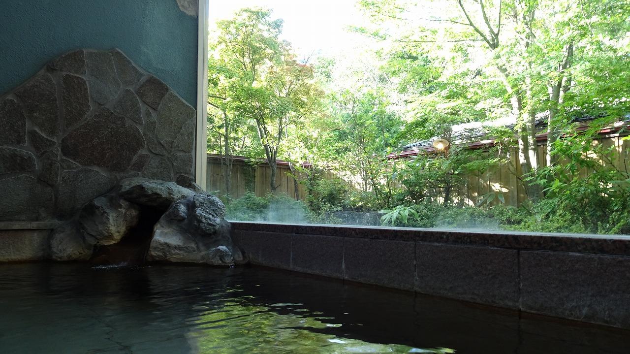 新穂高温泉 谷旅館 風呂編1 (2016年8月)