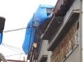 ブルーシート屋根③