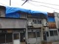 ブルーシートの屋根②