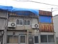 ブルーシートの屋根①