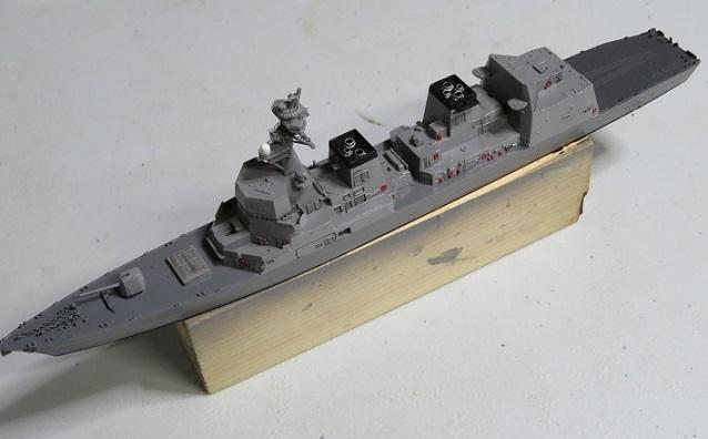 あきづき甲板塗装リトライ2