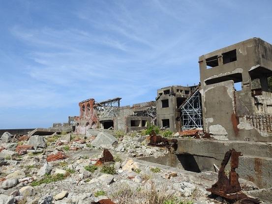 軍艦島廃墟2