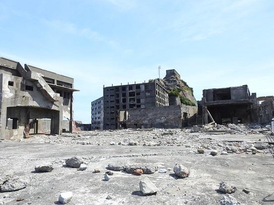 軍艦島廃墟3