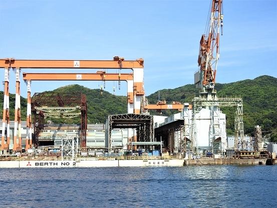 三菱重工長崎造船所第二ドッグ