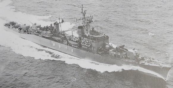 護衛艦あきづき初代疾走