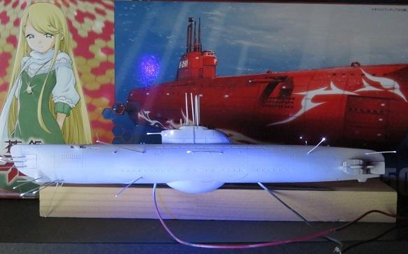 U-2501光ファイバーと蛍光塗料